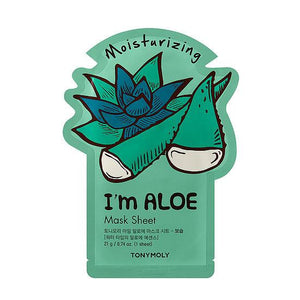 TONYMOLY I'm Real Aloe Mask Sheet - Moisturizing