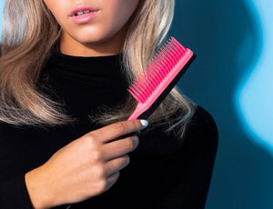 TANGLE TEEZER Back Combing Hairbrush - Pink Embrace