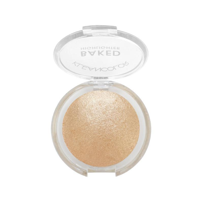 KLEANCOLOR Baked Highlighter - Copper #04