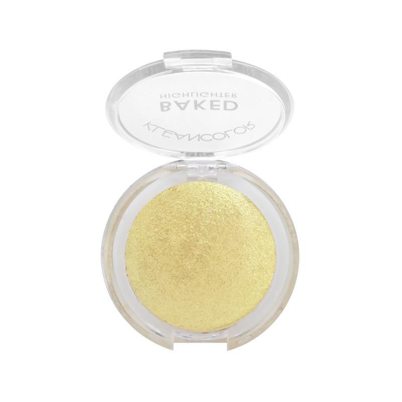 KLEANCOLOR Baked Highlighter - Gold #02