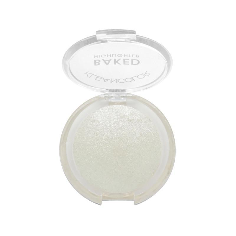 KLEANCOLOR Baked Highlighter - Silver #01