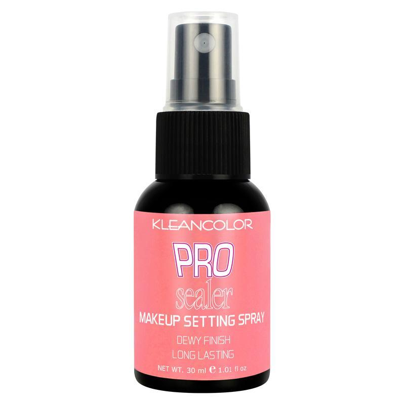 KLEANCOLOR Pro Sealer Makeup Setting Spray - Dewy Finish