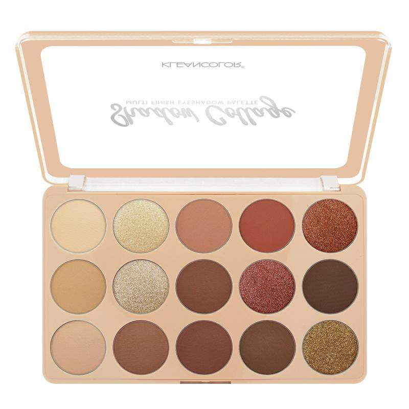 KLEANCOLOR Shadow Collage Multi-Finish Eyeshadow Palette - Melange