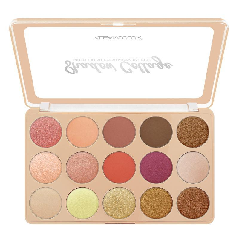 KLEANCOLOR Shadow Collage Multi-Finish Eyeshadow Palette - Montage