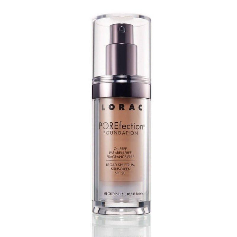 LORAC POREfection Foundation - PR8 Golden Tan