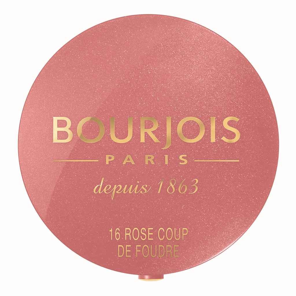 BOURJOIS Round Pot Blush - Rose Coup De Foudre #16