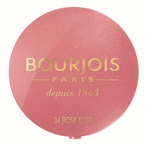 BOURJOIS Round Pot Blush - Rose D'Or #34