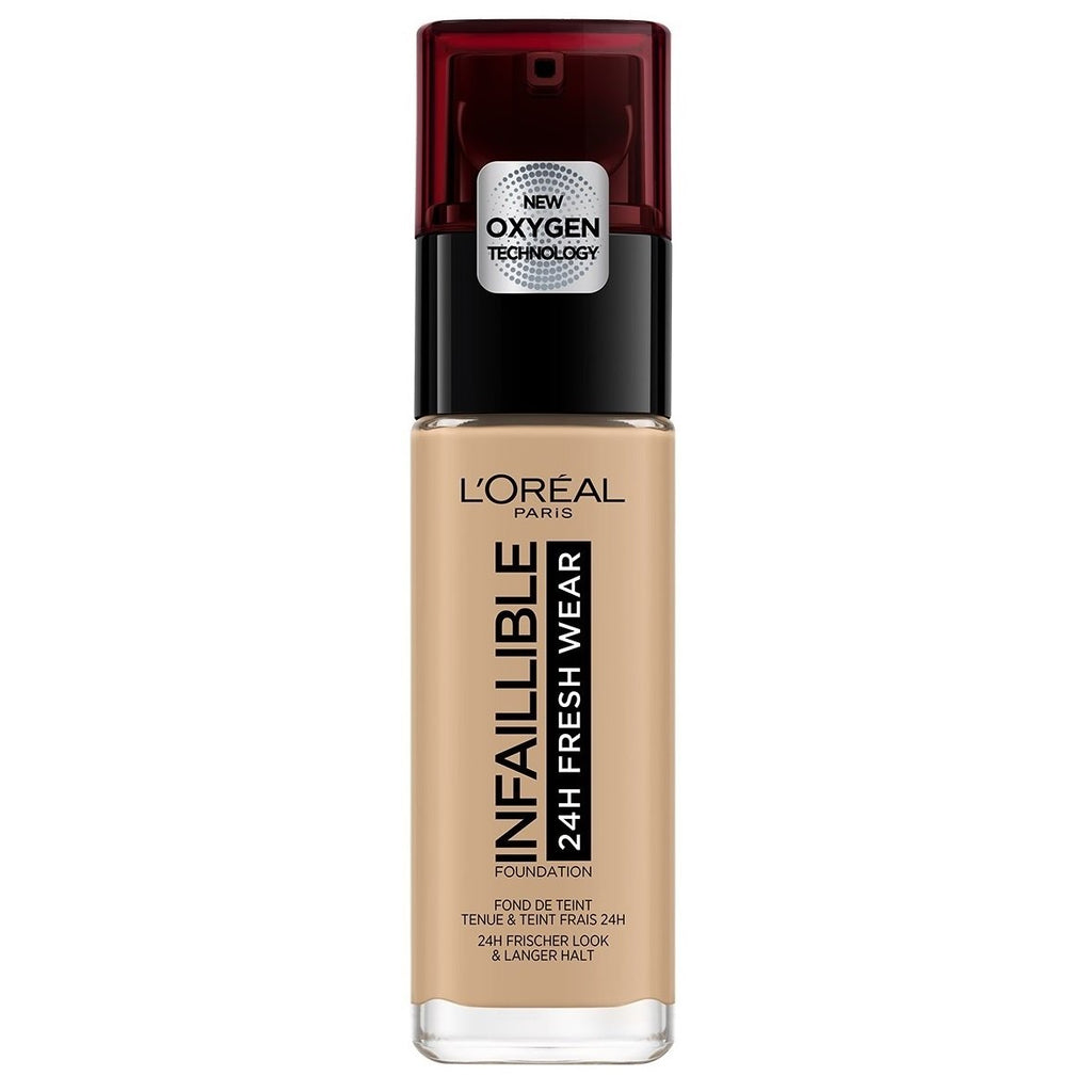 L'OREAL Infallible 24hr Freshwear Liquid Foundation - Golden Beige #140