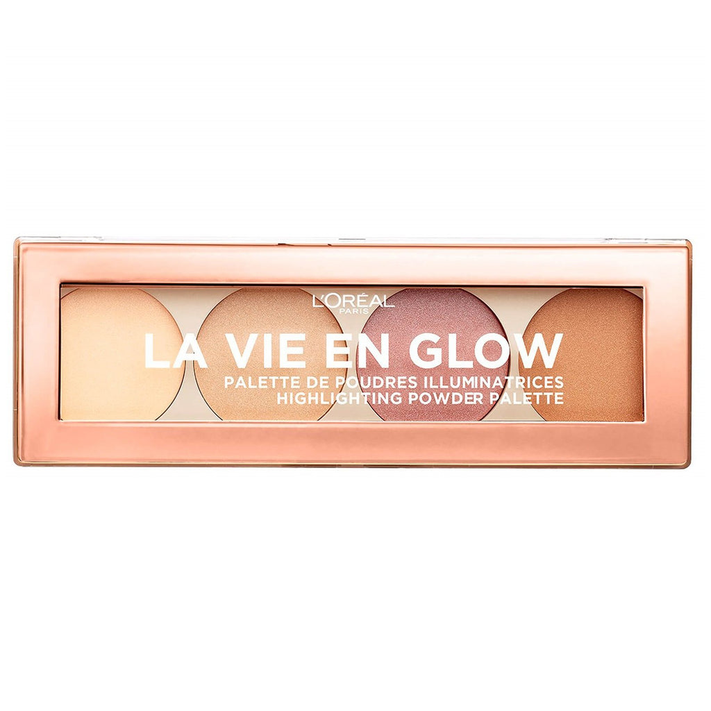 L'OREAL Wake Up And Glow La Vie En Glow Highlighting Palette - Warm Glow