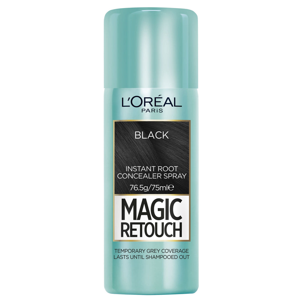 L'OREAL Magic Retouch Root Concealer Spray - Black #01