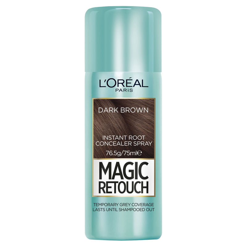 L'OREAL Magic Retouch Root Concealer Spray - Dark Brown #02