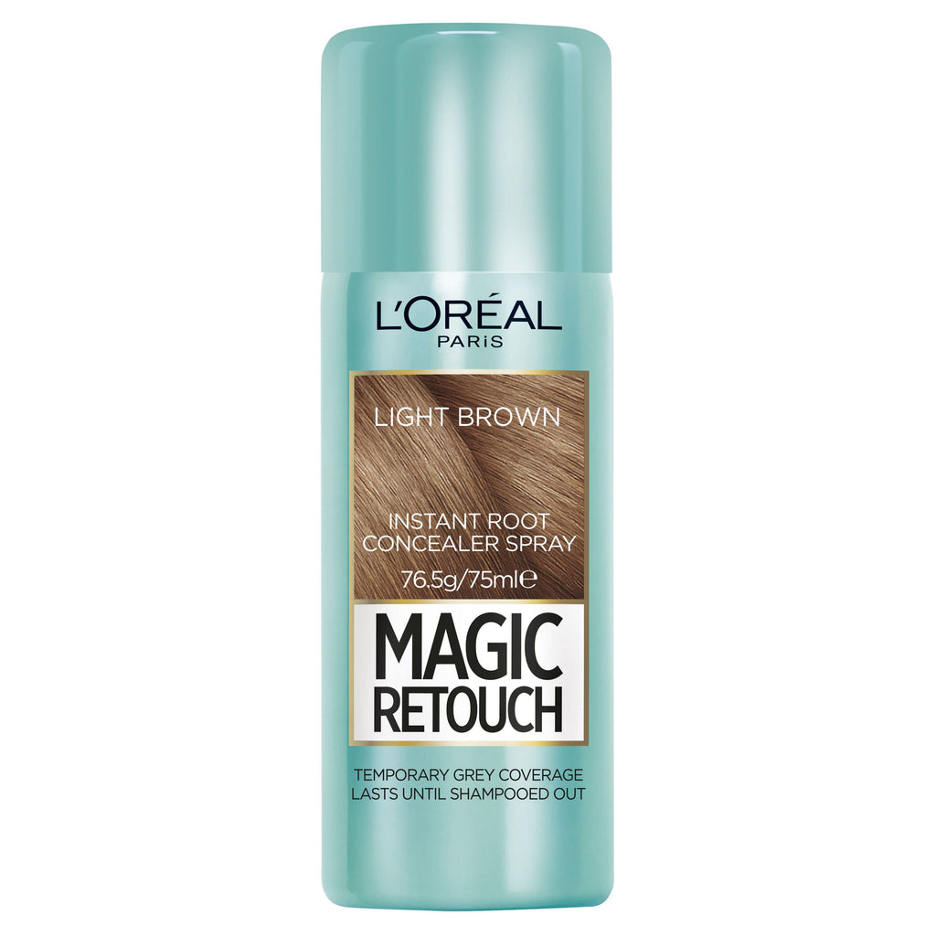 L'OREAL Magic Retouch Root Concealer Spray - Light Brown #04