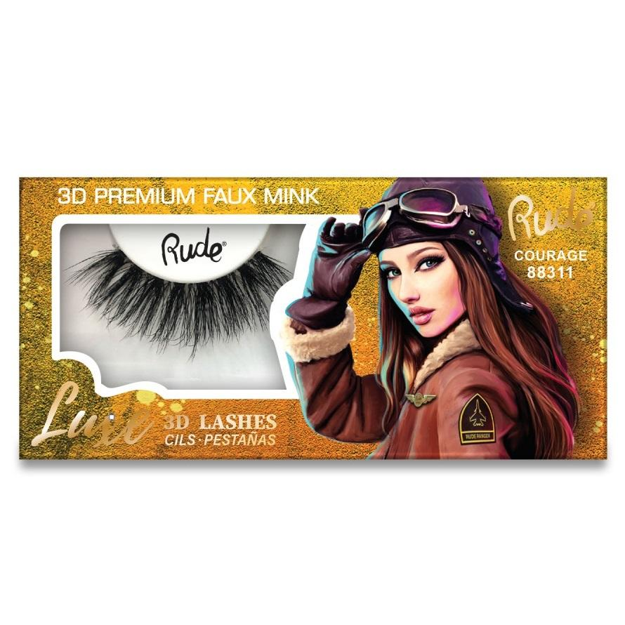RUDE Luxe 3D Lashes - Courage