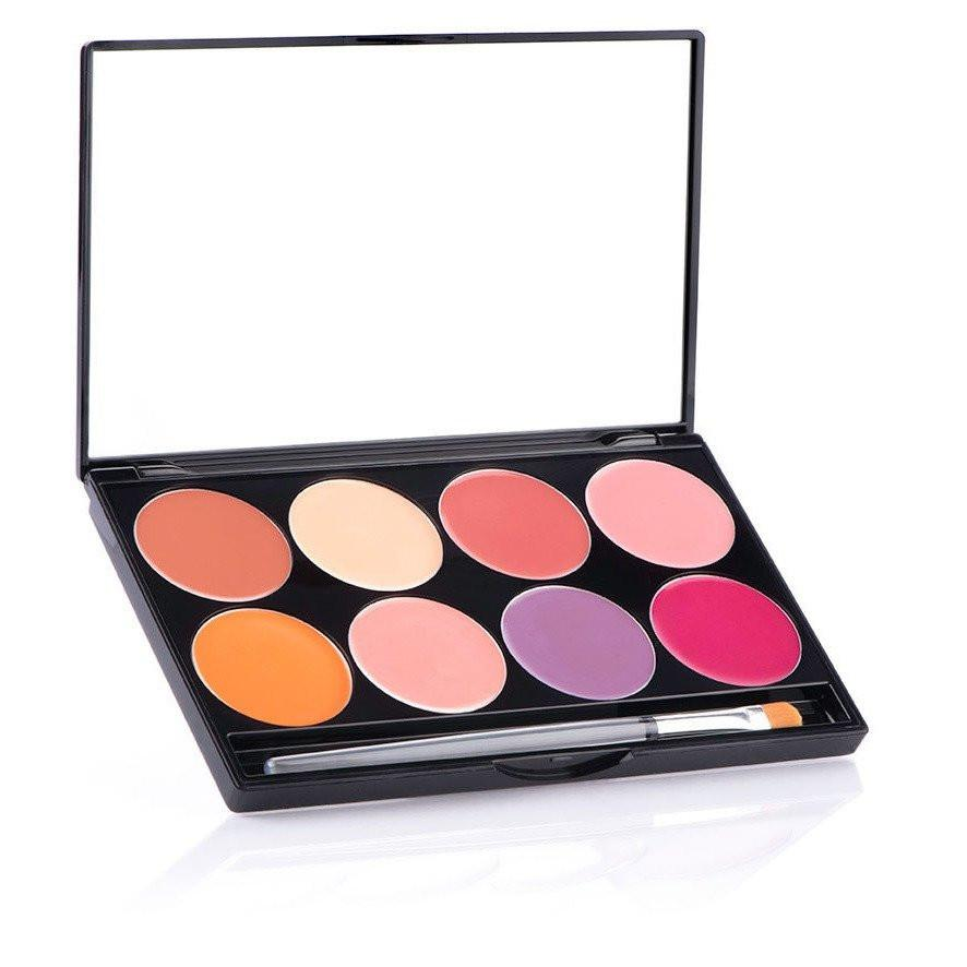 MEHRON Cheek Cream 8-Color Palette