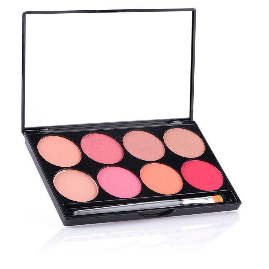 MEHRON Cheek Powder 8-Color Blush Palette