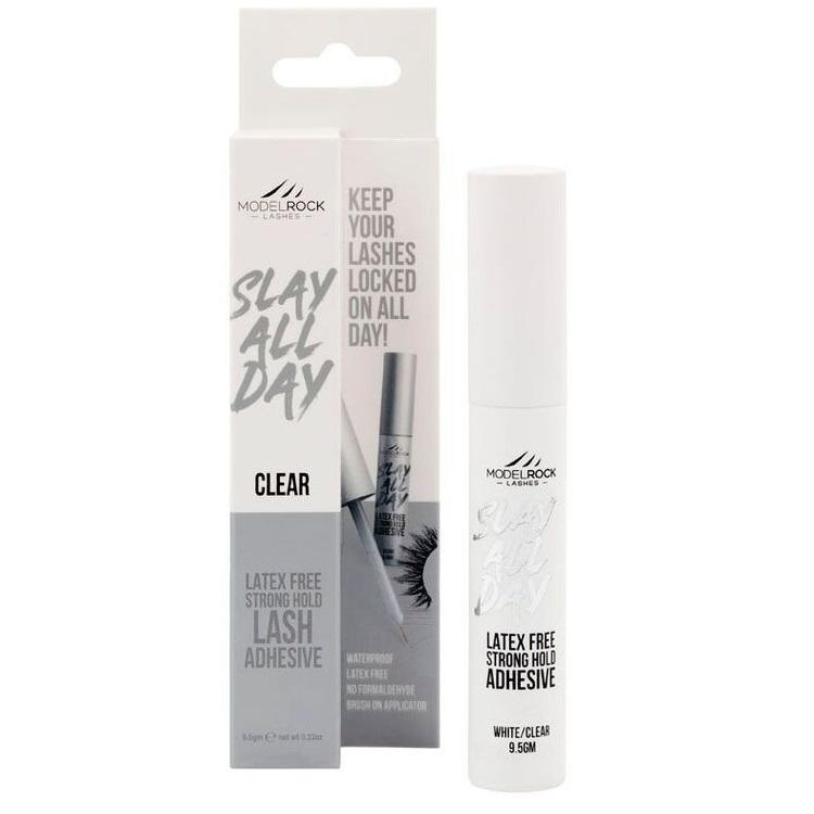MODELROCK Latex-Free Slay All Day Super Strong Lash Adhesive with Applicator - Clear