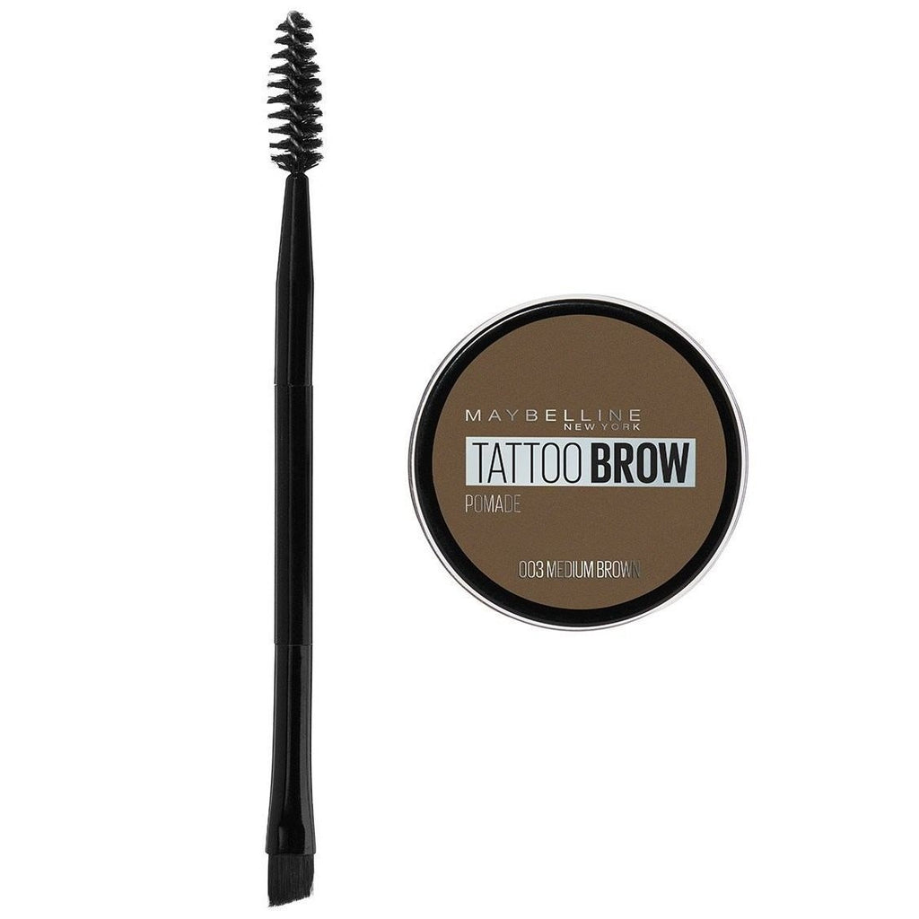 MAYBELLINE Tattoo Brow Pomade Pot - Medium Brown #03