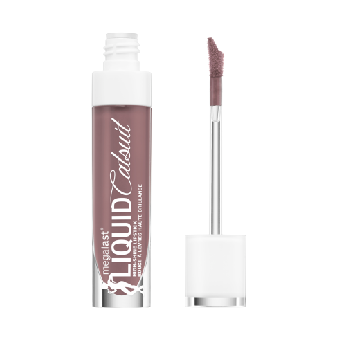 WET N WILD MegaLast Liquid Catsuit High-Shine Lipstick - Mauve Over Girl
