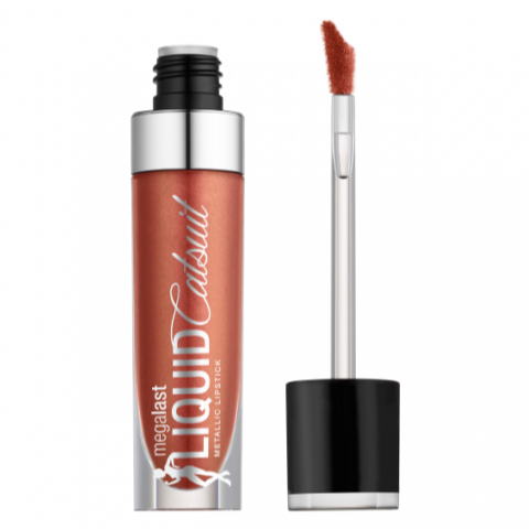 WET N WILD MegaLast Liquid Catsuit Metallic Lipstick - Bali In Love