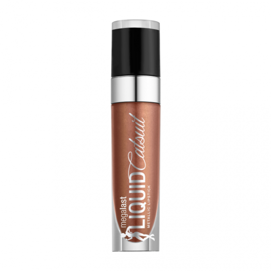 WET N WILD MegaLast Liquid Catsuit Metallic Lipstick - Satin Sheets