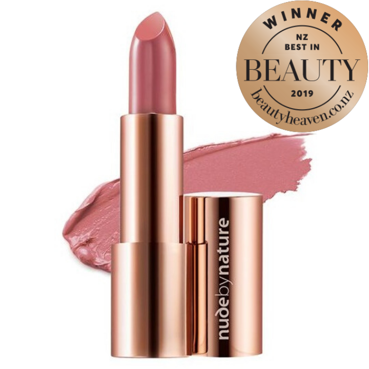 NUDE BY NATURE Moisture Shine Lipstick - Dusty Rose #03