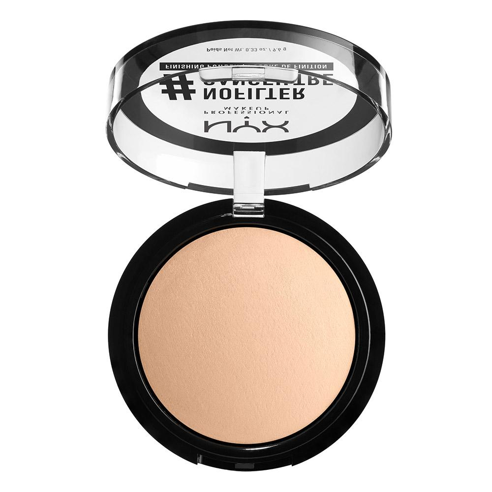 NYX PROFESSIONAL MAKEUP #NOFILTER Finishing Powder - Light Beige
