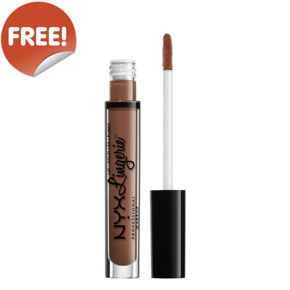 FREE NYX PROFESSIONAL MAKEUP Lip Lingerie - Teddy (GWP Offer)