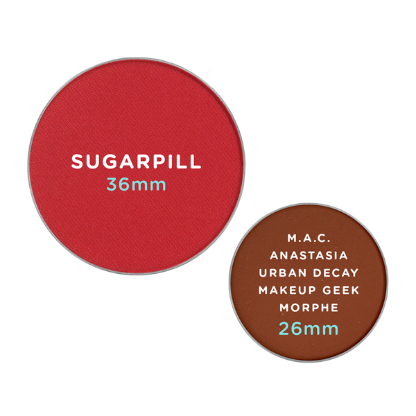 SUGARPILL Eyeshadow PRO Pan - Kiss Kiss