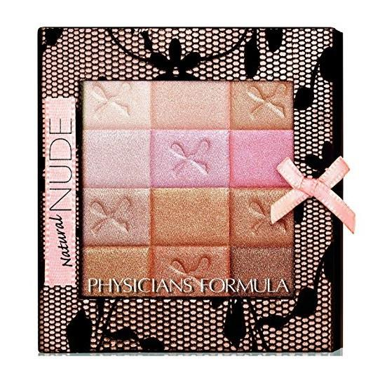 PHYSICIANS FORMULA Shimmer Strips All-in-1 Custom Nude Palette for Face & Eyes - Natural Nude