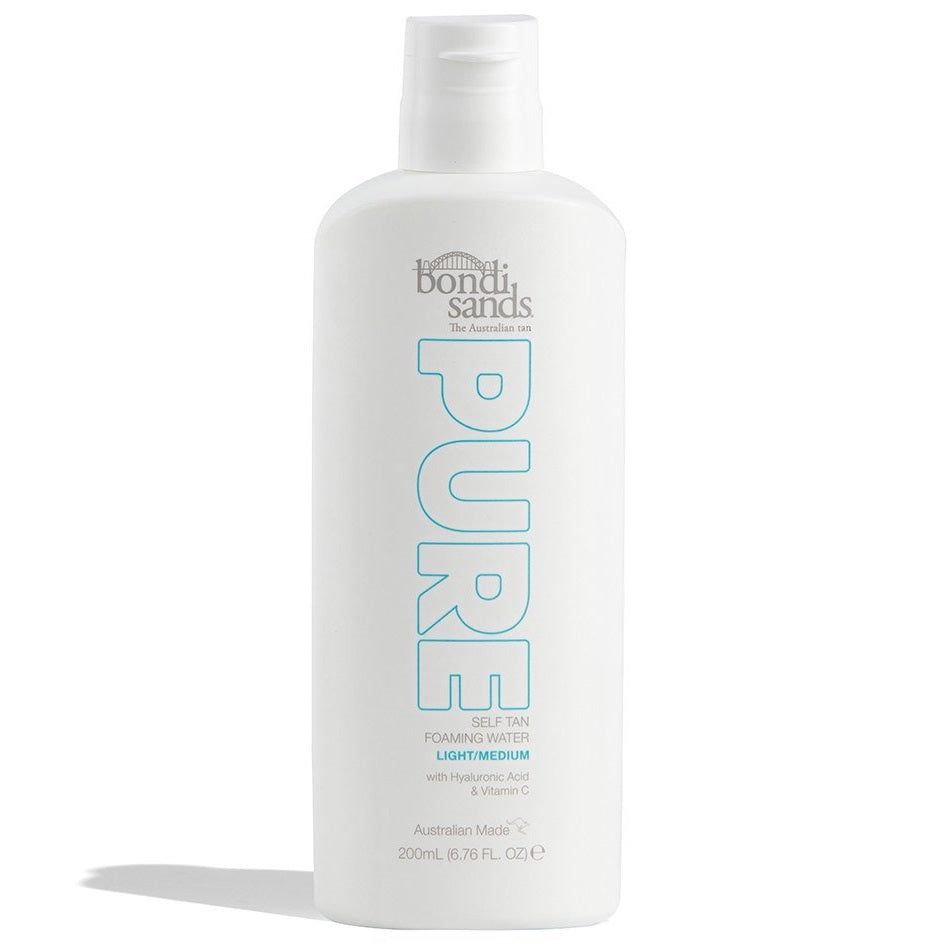 BONDI SANDS Pure Self Tan Foaming Water - Light/Medium (200 ml)