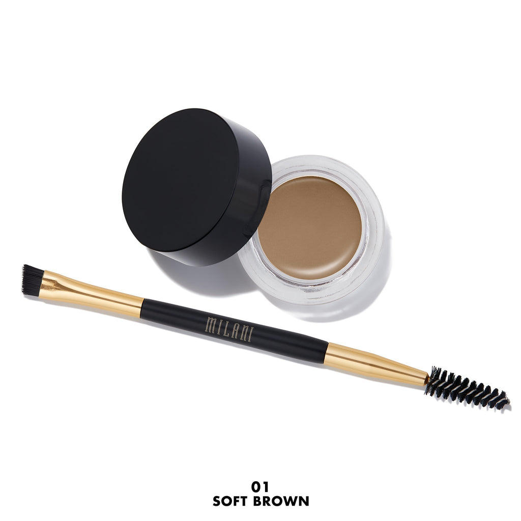 MILANI Stay Put Brow Color - Soft Brown #01