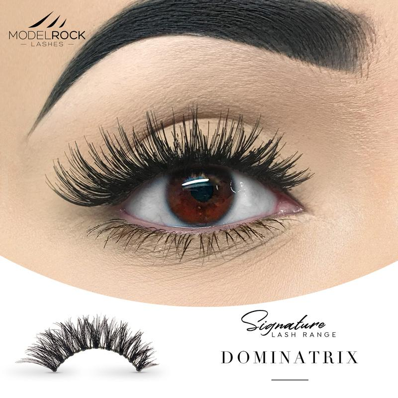 MODELROCK Signature Range Double Layered Lashes - Dominatrix