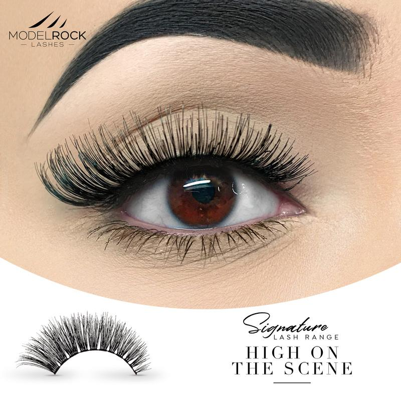 MODELROCK Signature Range Double Layered Lashes - High On The Scene