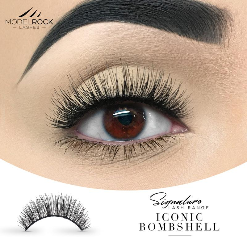 MODELROCK Signature Range Double Layered Lashes - Iconic Bombshell