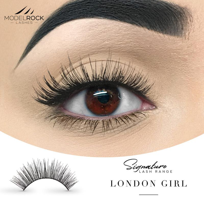 MODELROCK Signature Range Double Layered Lashes - London Girl