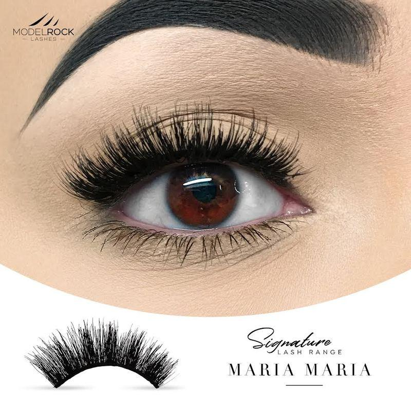 MODELROCK Signature Range Double Layered Lashes - Maria Maria
