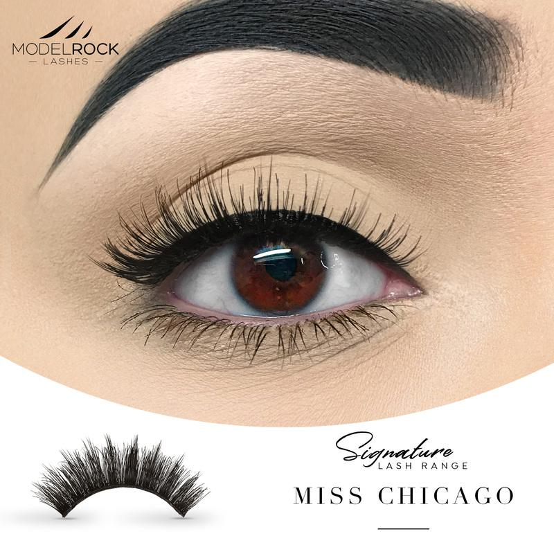 MODELROCK Signature Range Double Layered Lashes - Miss Chicago