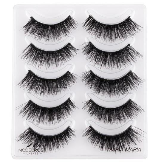 MODELROCK Signature Range Double Layered Lashes Multipack - Maria Maria