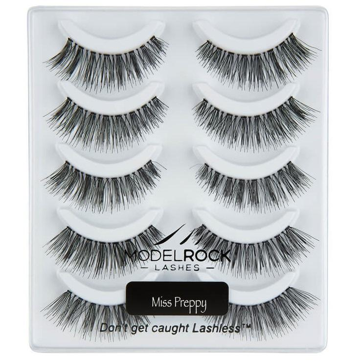 MODELROCK Signature Range Lashes Multipack - Miss Preppy