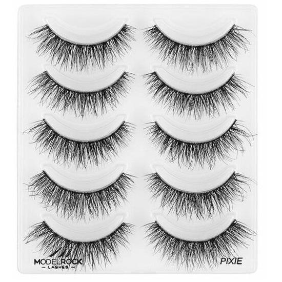 MODELROCK Signature Range Double Layered Lashes Multipack - Pixie