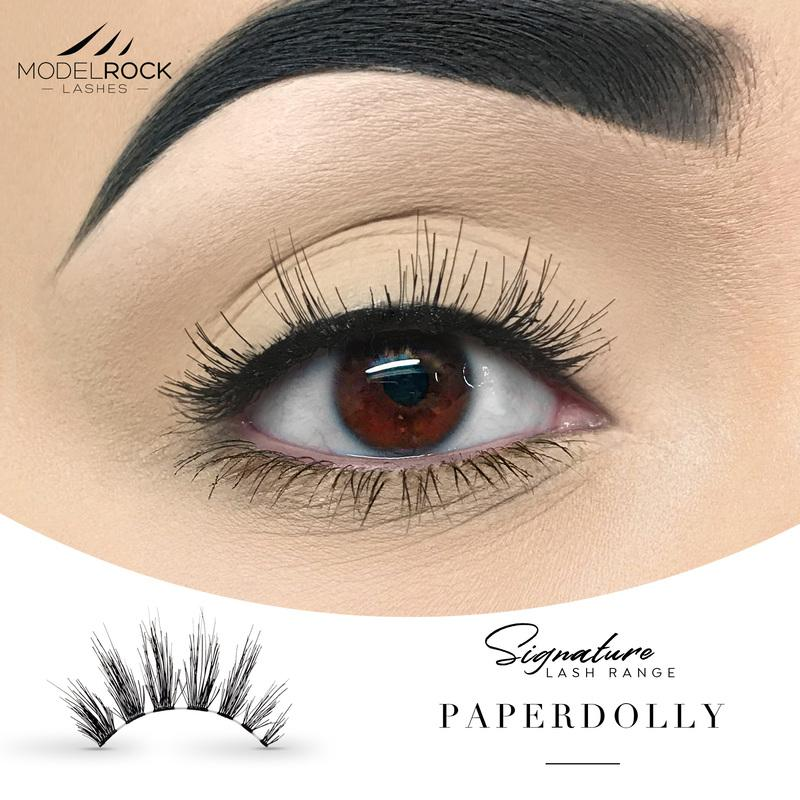 MODELROCK Signature Range Lashes - PaperDolly