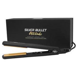 SILVER BULLET Attitude Hair Straightener (With Extras)