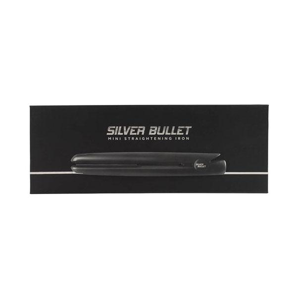 SILVER BULLET Mini Hair Straightener - Black