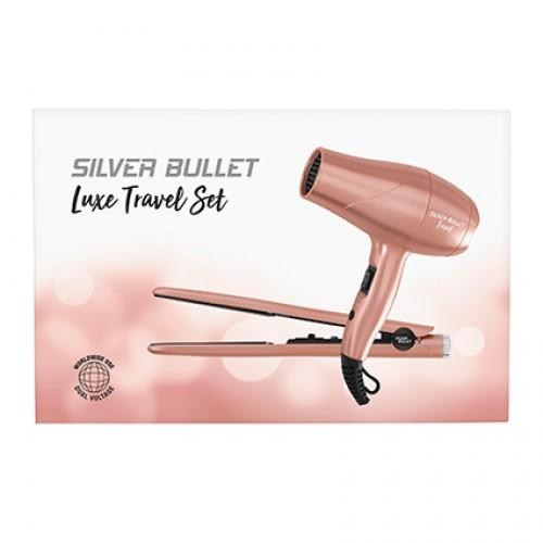 SILVER BULLET Luxe Travel Set - Rose Gold