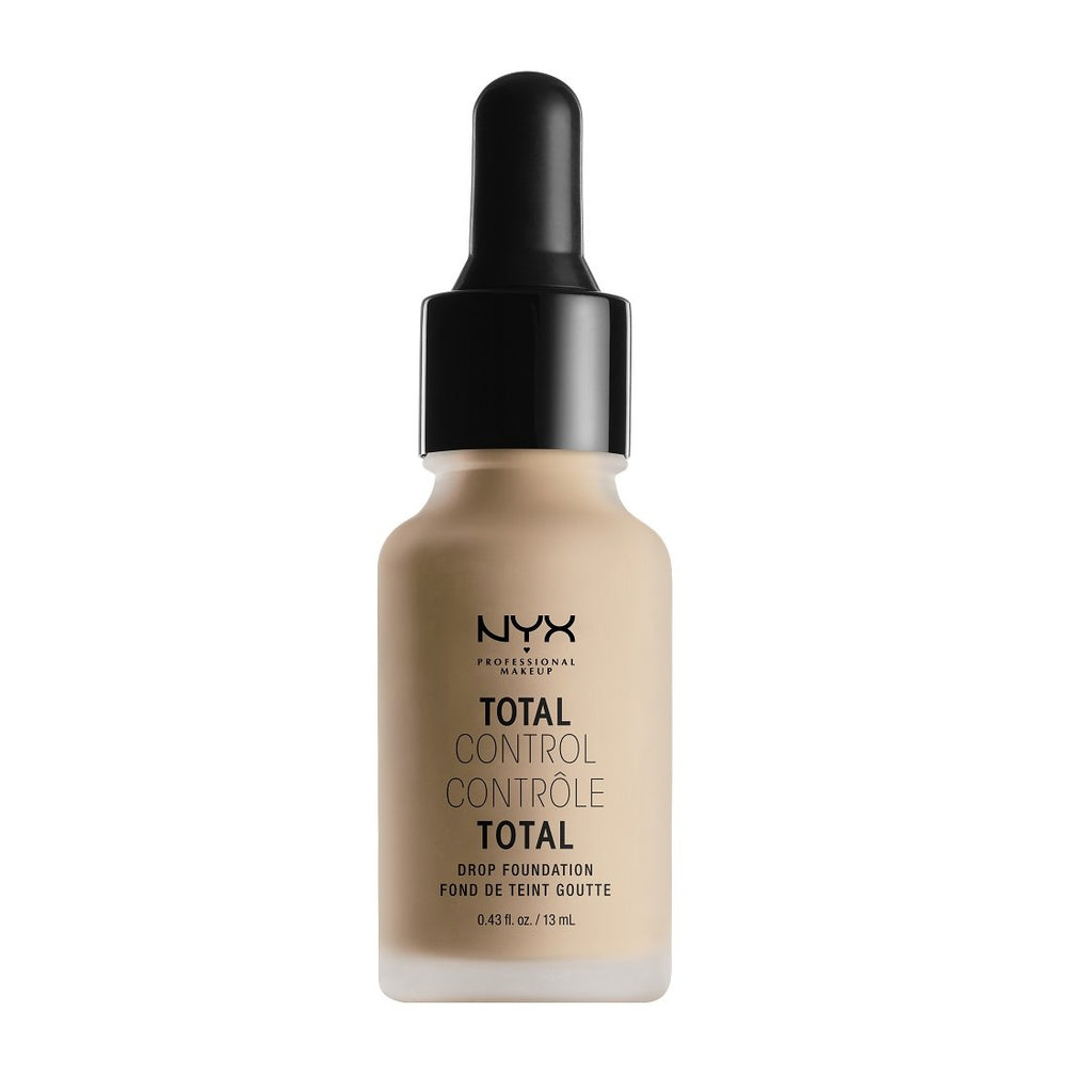 NYX PROFESSIONAL MAKEUP Total Control Drop Foundation - Natural