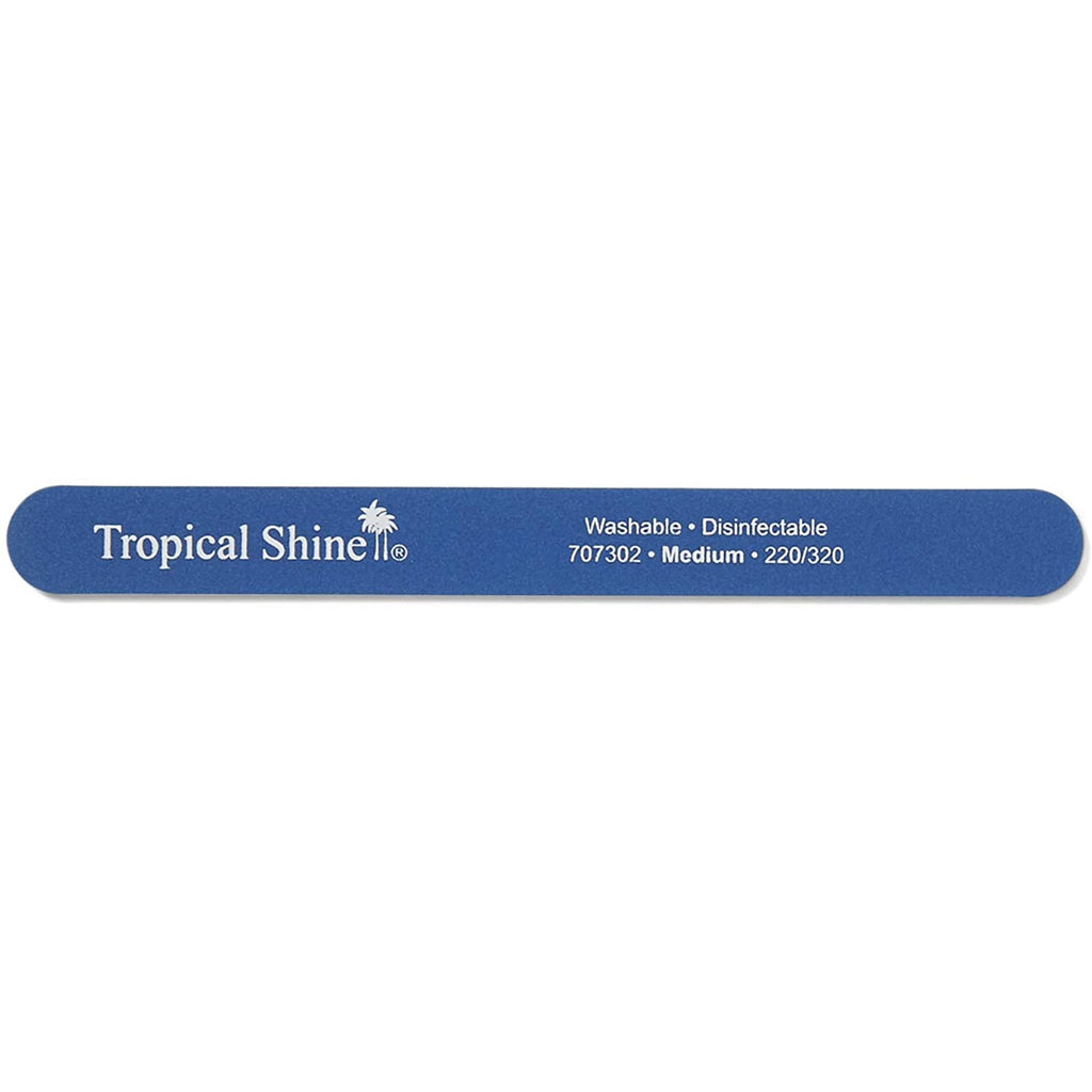 TROPICAL SHINE Colossal Nail File - Blue (Medium)