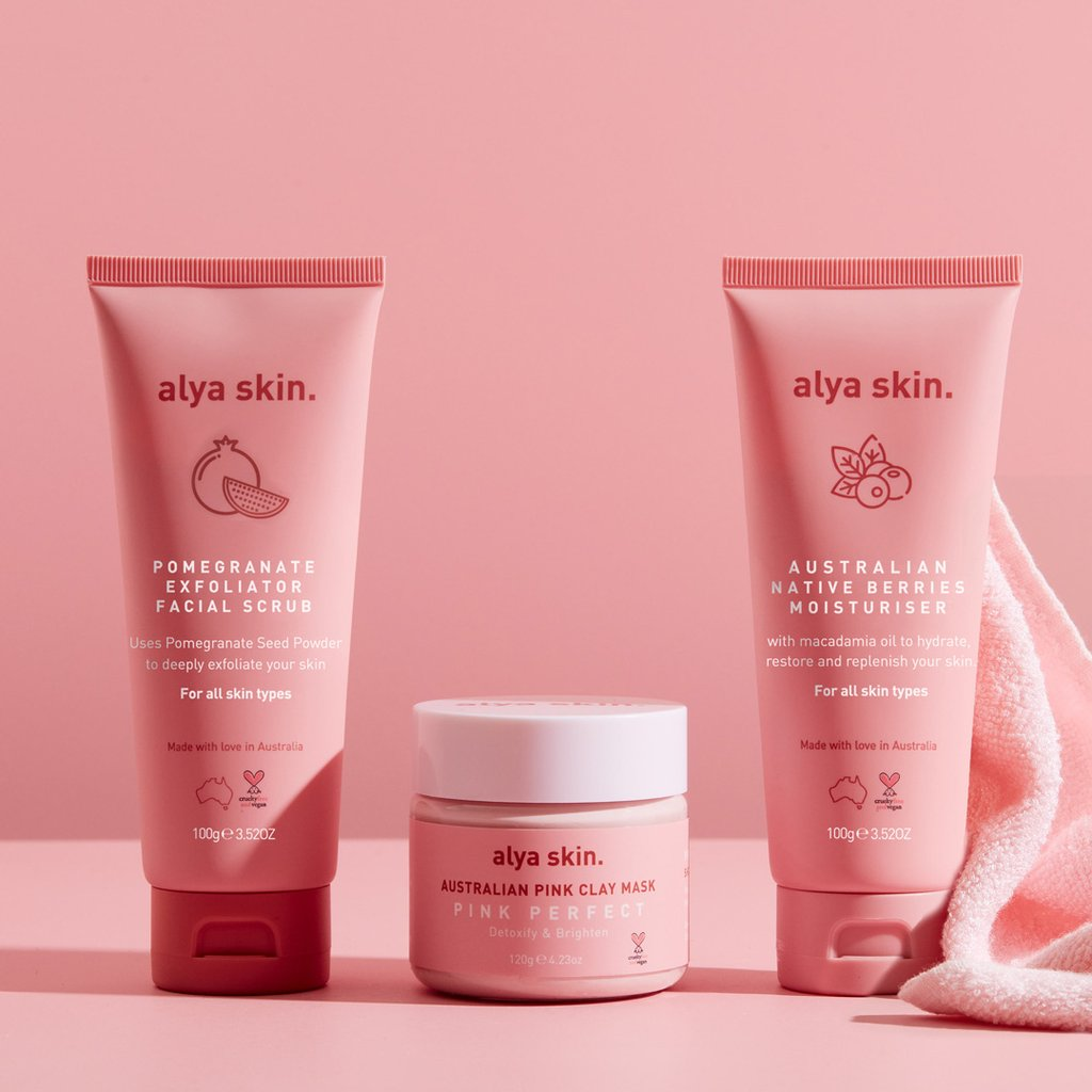 ALYA SKIN Ultimate Skincare Bundle (RRP $119.97)