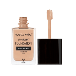 WET N WILD Photo Focus Foundation - Peach Natural