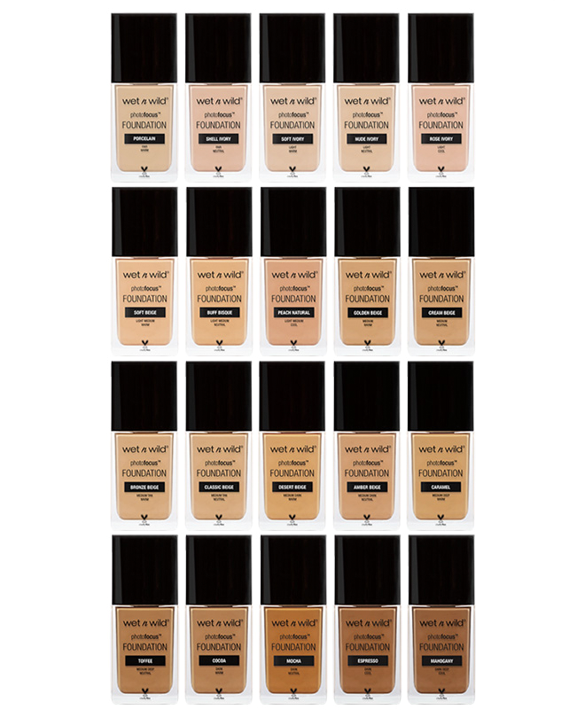 WET N WILD Photo Focus Foundation - Cocoa