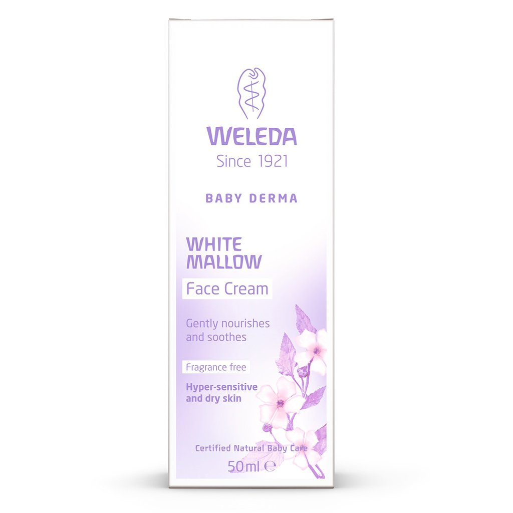WELEDA White Mallow Face Cream (50 ml)
